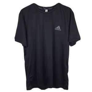 Adidas Essential Tech Tee Shirt Climalite Gym Run